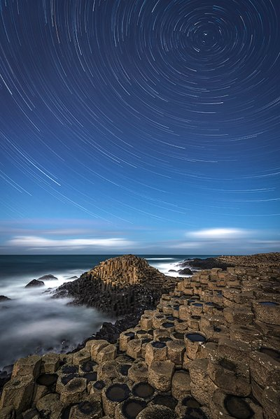 A Giants Star Trail