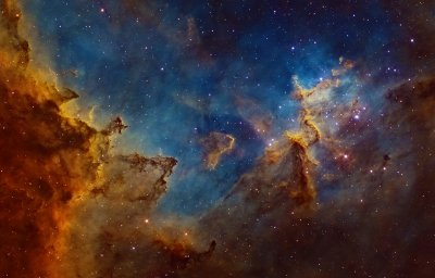 Centre of the Heart Nebula