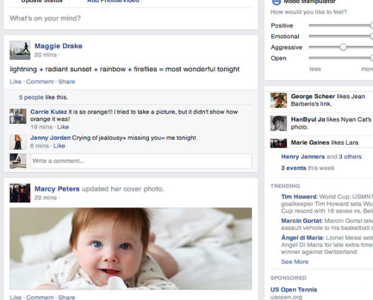 New Chrome Extension Allows You to Simulate Facebook's Secret Experiment in Your Browser