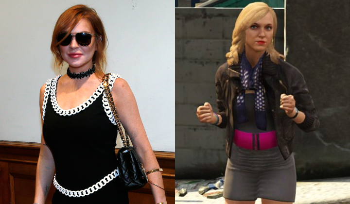 GTA V: Lindsay Lohan Sues Grand Theft Auto V Makers Rockstar