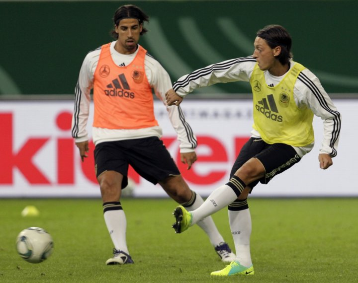 Khedira and Ozil