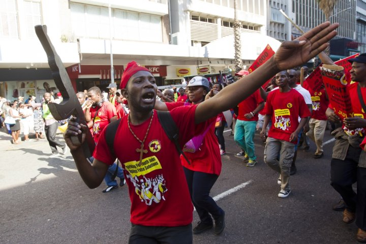 South Africa metalworkers strike