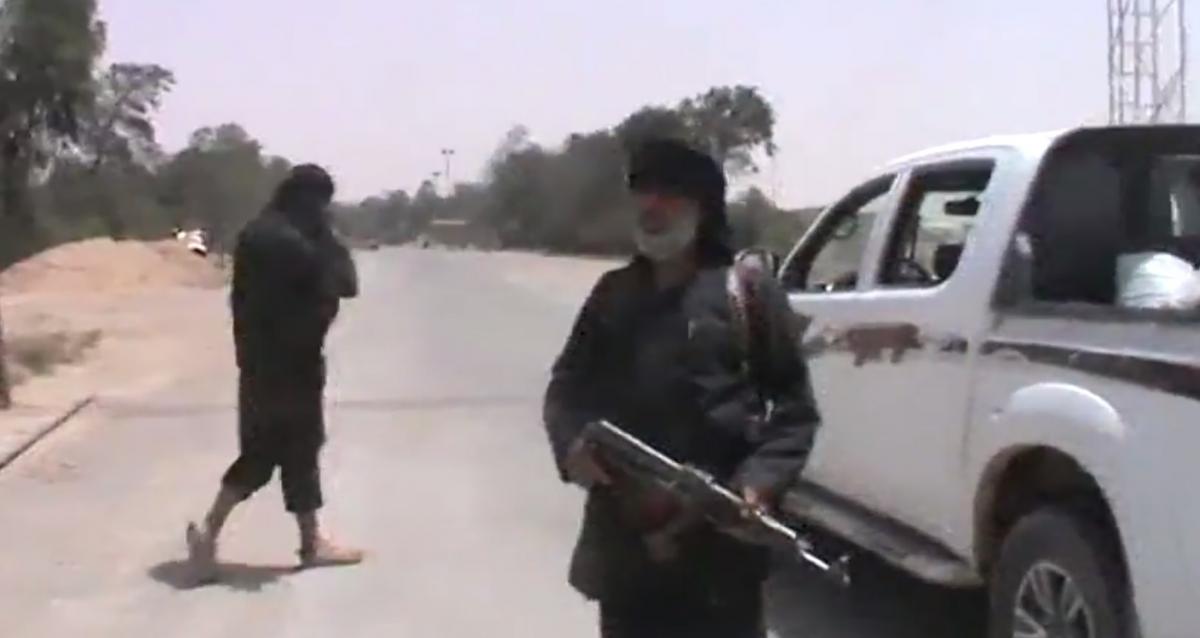 Islamic State al-Omar oil field Syria