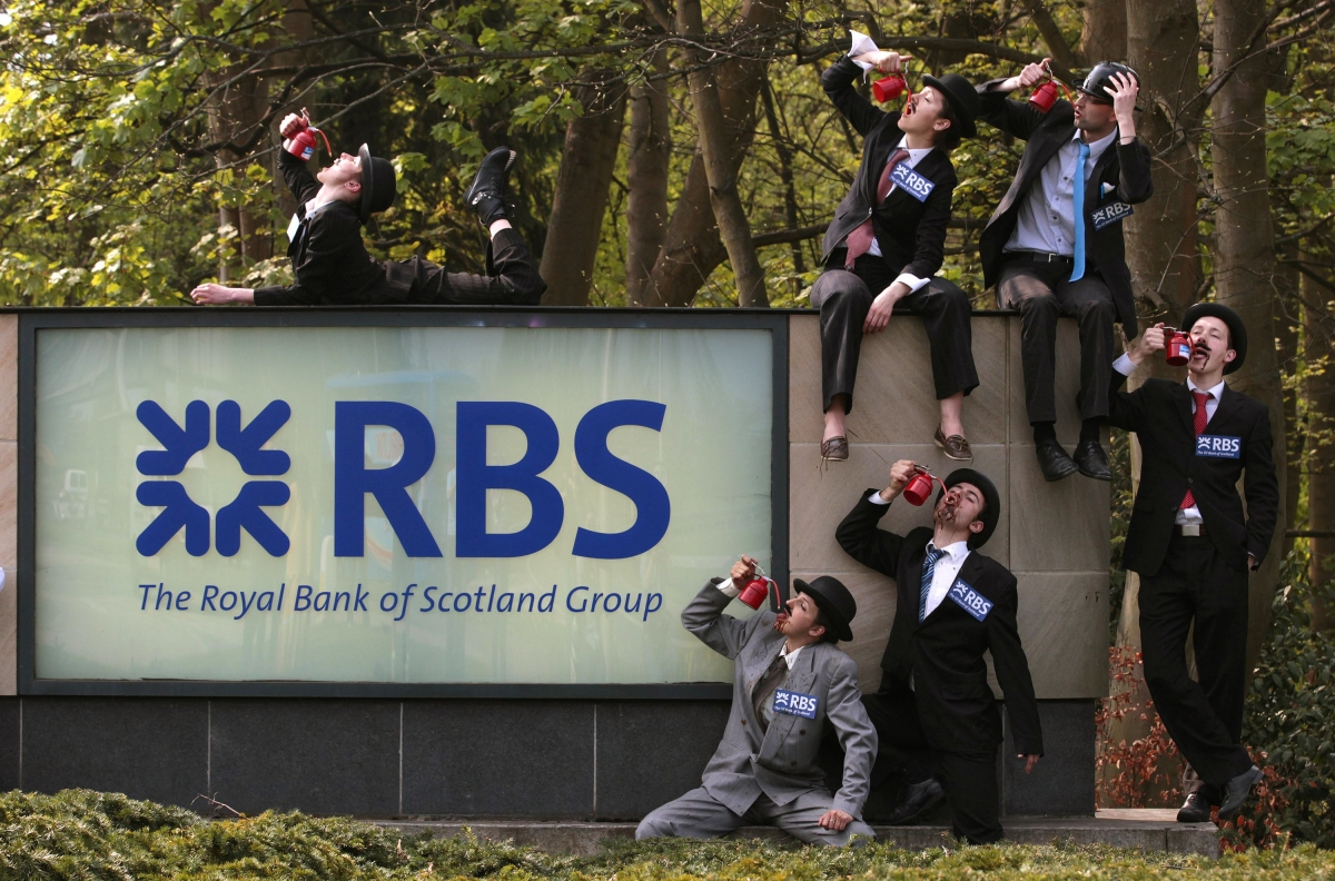 RBS Shares Jump as Boss Declares Misconduct Issues Will Be Resolved in 2016