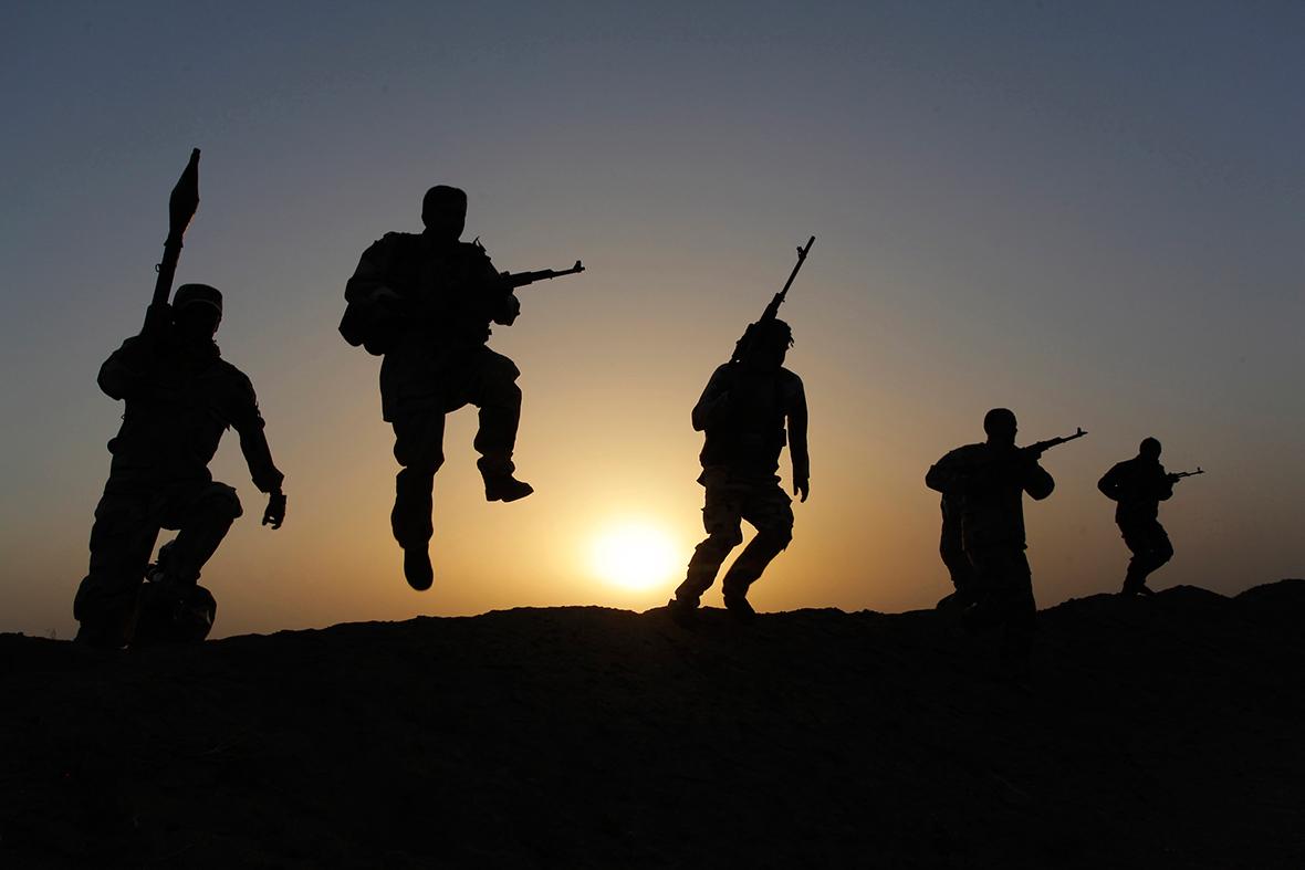 iraq army volunteers