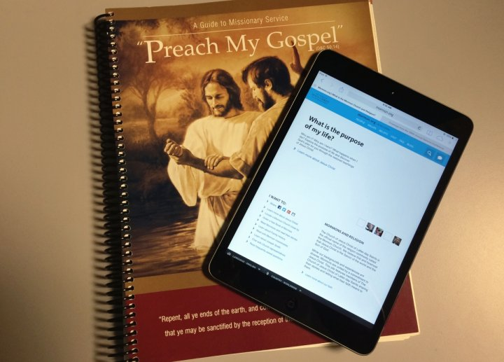 Book of Mormon Missionaries to Use iPad Minis
