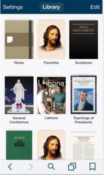 The Gospel Library Book of Mormon App