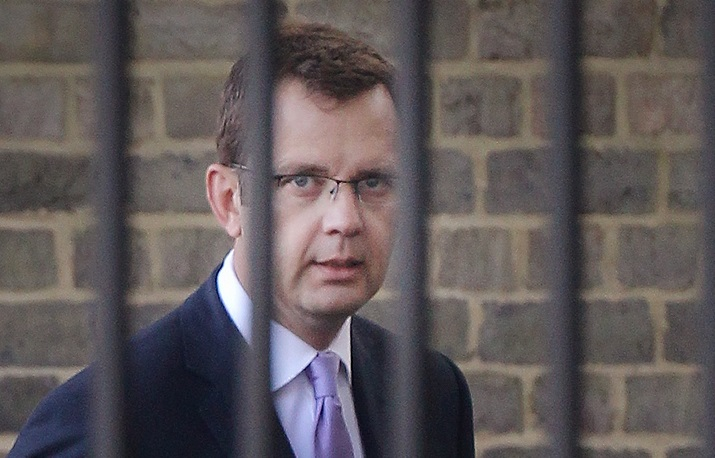 Andy Coulson has been moved to open prison from Belmarsh, said his old cellmate