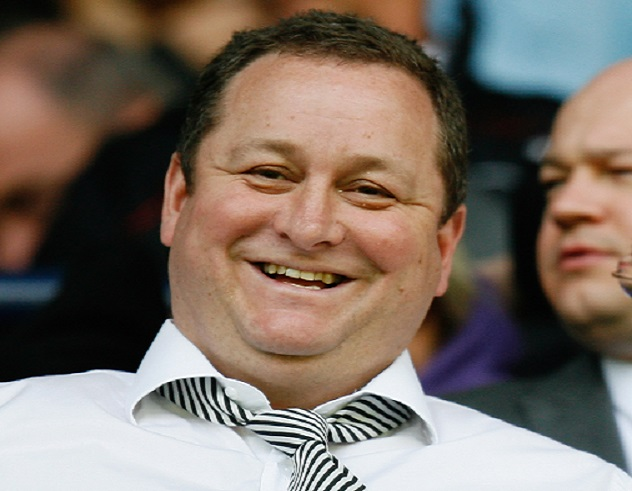 Newcastle Utd owner Mike Ashley
