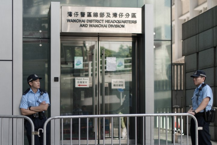 Hong Kong pro-democracy rally organisers arrested