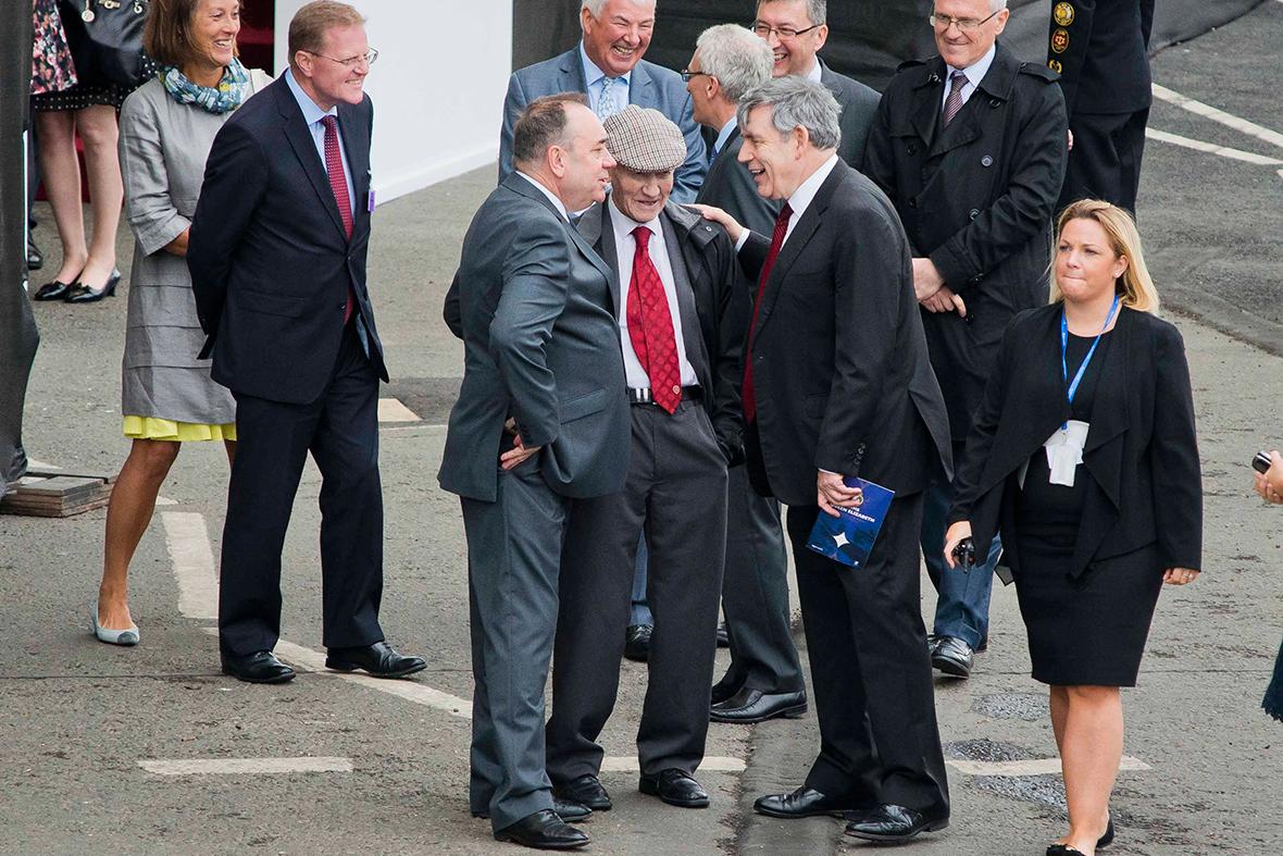 Alex Salmond Gordon Brown