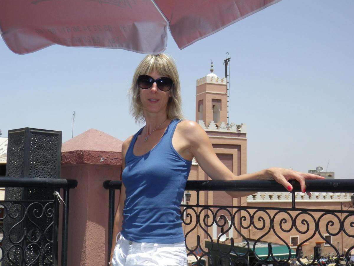 Fabienne Terral Calms Albi teacher killed