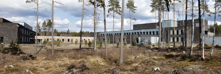 A general view of Halden prison in the far southeast of Norway is seen in this picture taken in 2010
