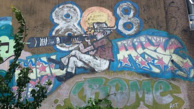 Rolf Harris Mural