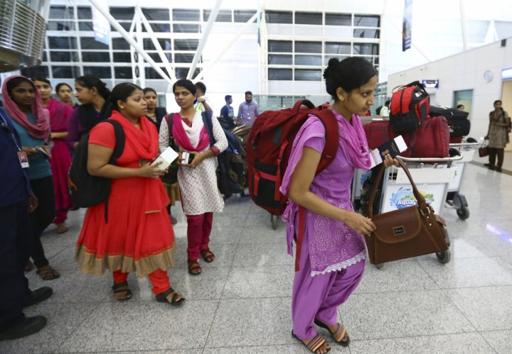 Indian nurses abduction by Iraq Isis militants