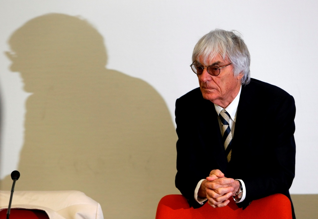 F1 Boss Bernie Ecclestone Could Bid to Buy Back Motor Sport