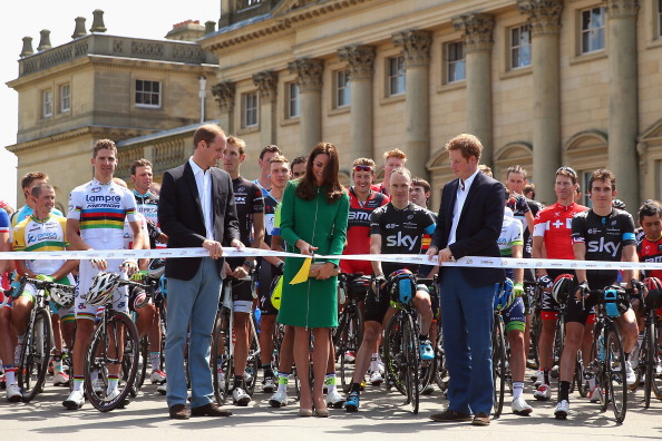 Kate Middleton, Prince William and Prince Harry Watch in