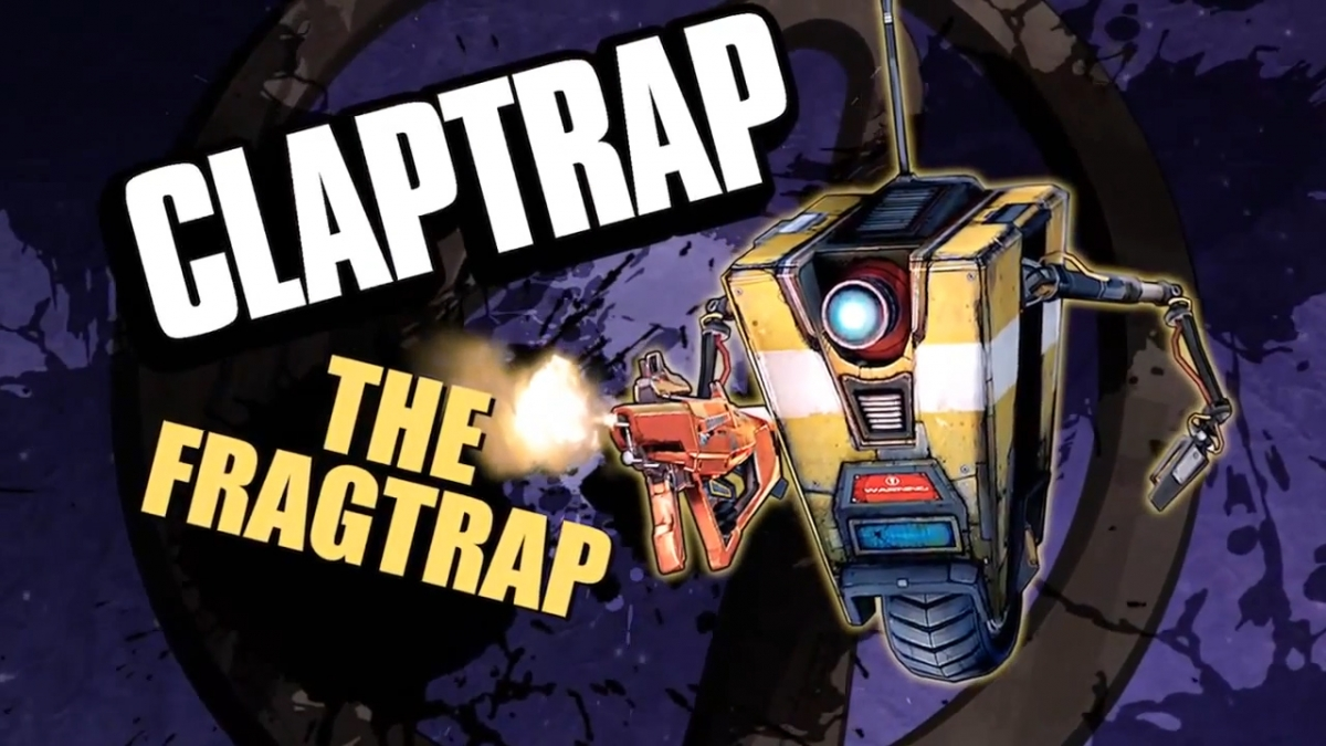 CLaptrap a playable character in borderlands: The Pre-Sequel