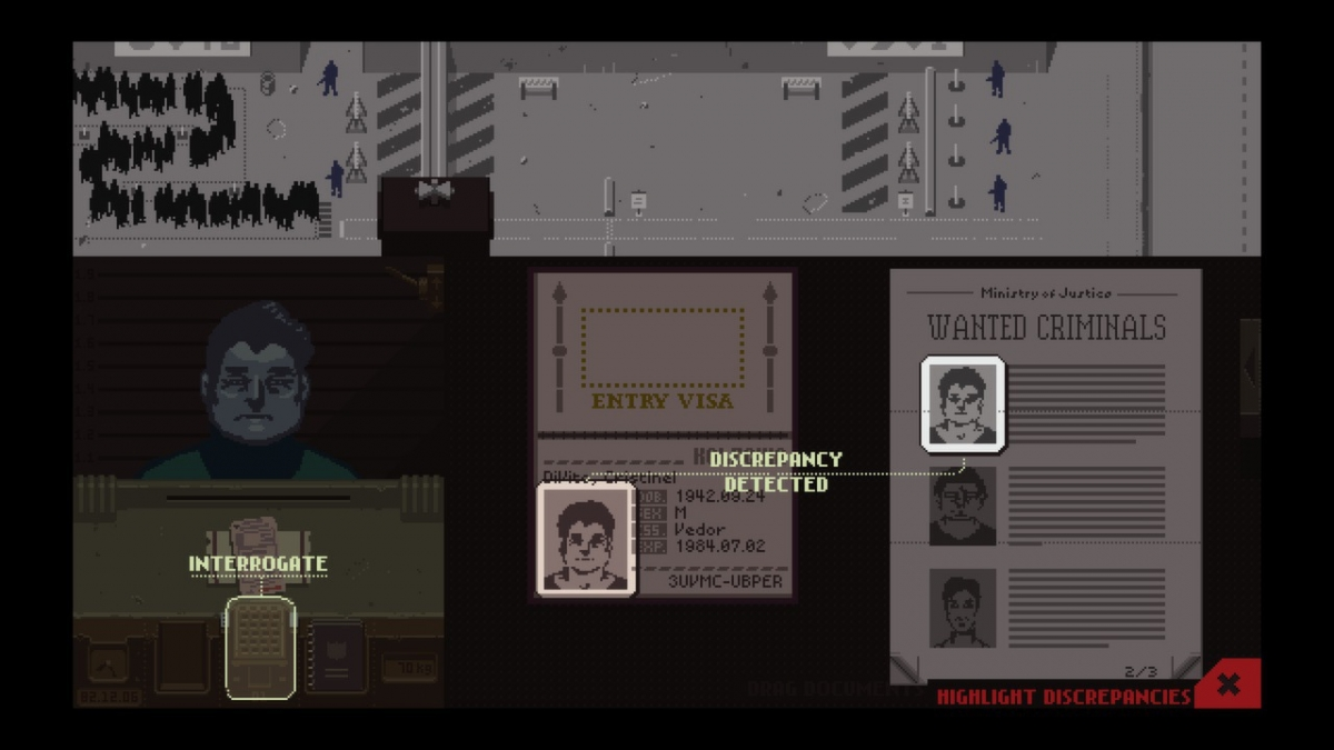 Papers please developer
