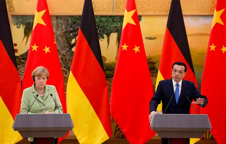 Angela Merkel Li Keqiang