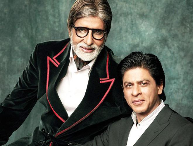 Amitabh Bachchan and Shahrukh Khan