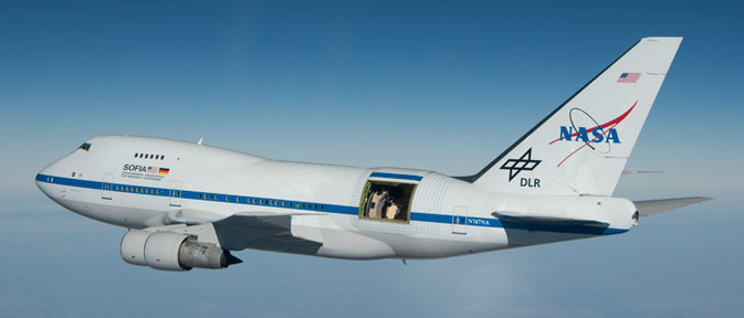 Nasa 'Flying Observatory' Officially Showcased, Features 17-Ton Infrared Telescope Mounted in a Boeing 747