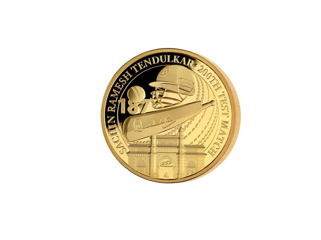 Sachin Tendulkar Coin