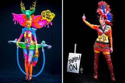 bodypainting festival no future