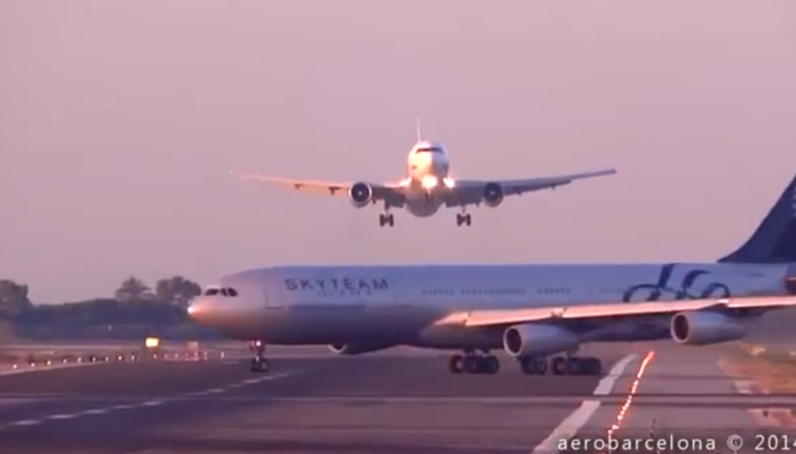 Barcelona Plane Incident