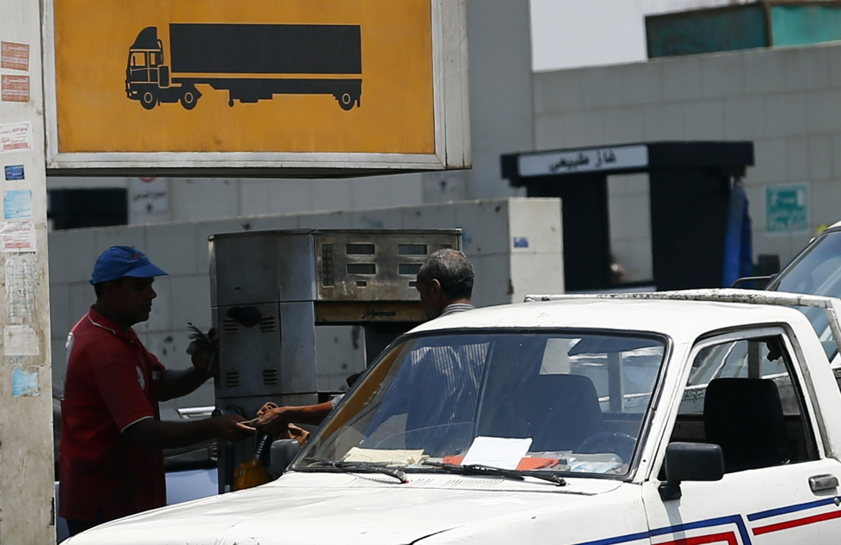 Egypt petrol station