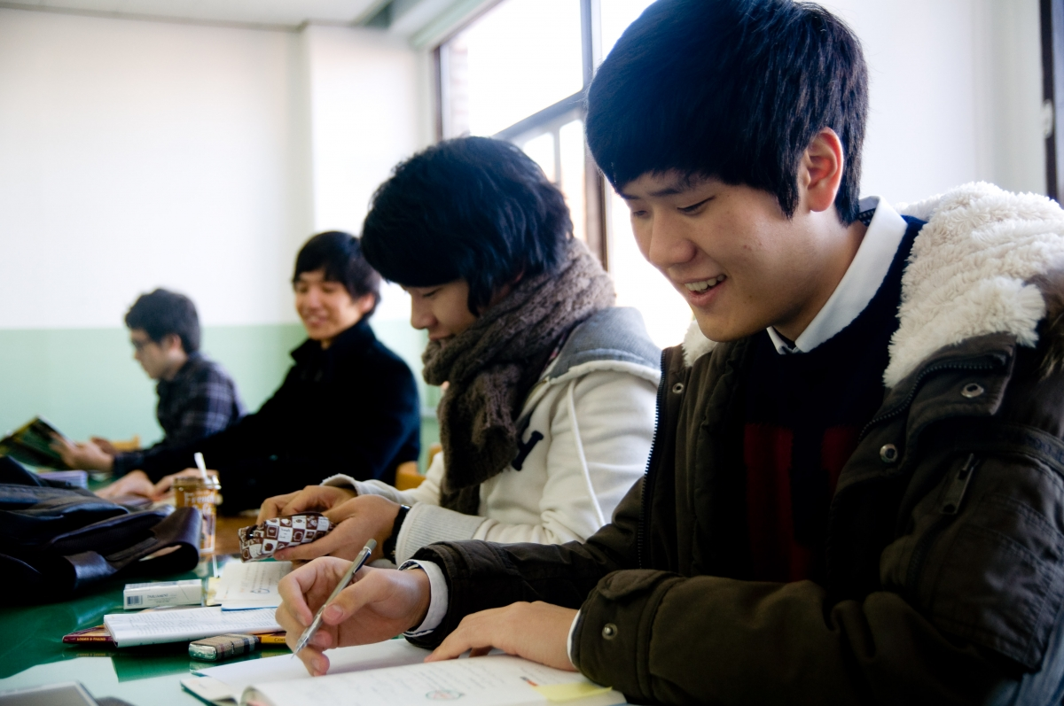 South Korean school system