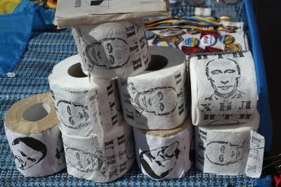 kiev putin toilet paper