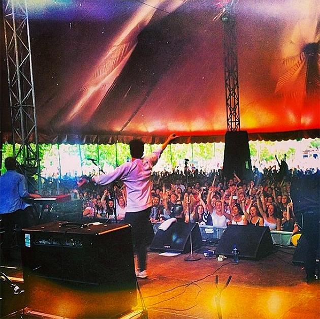 Rixton perform at Wireless