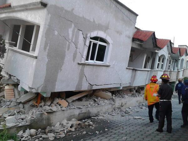 Mexico Guatemala Earthquake