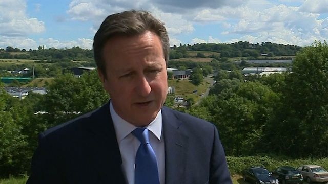 Cameron: Sex Abuse Inquiry to Leave 'No Stone Unturned'