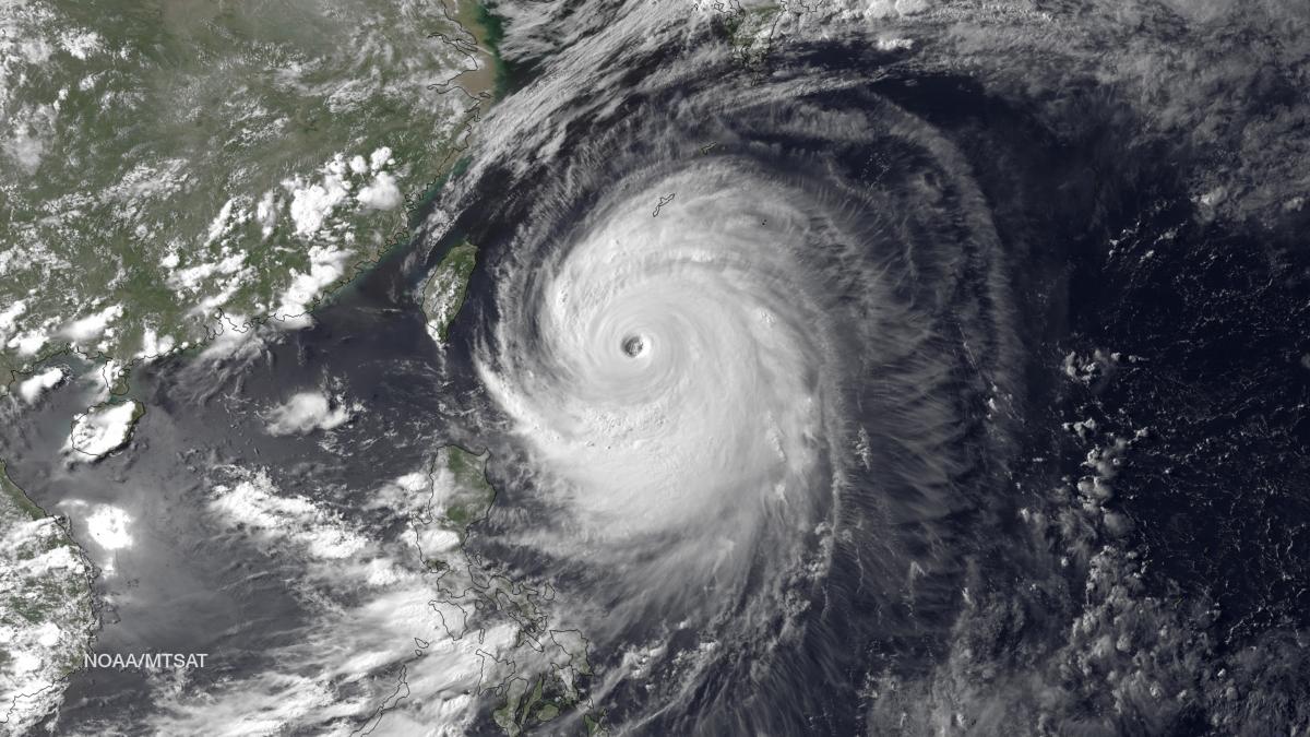 Japan Typhoon Neoguri