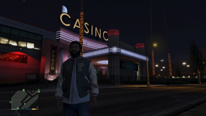 Casino in gta 5 map
