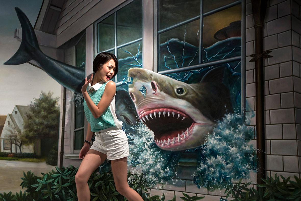 3d gallery shark