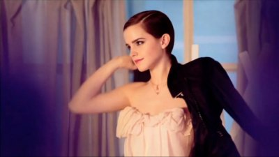 Most Stunning Images Emma Watson Dazzles in New Perfume Ad for Lancme.