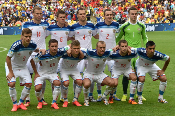 Russia football team