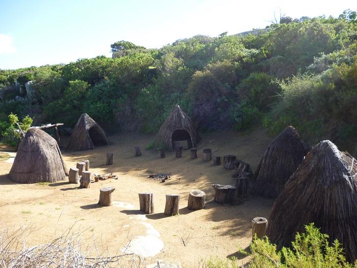 A San replica village