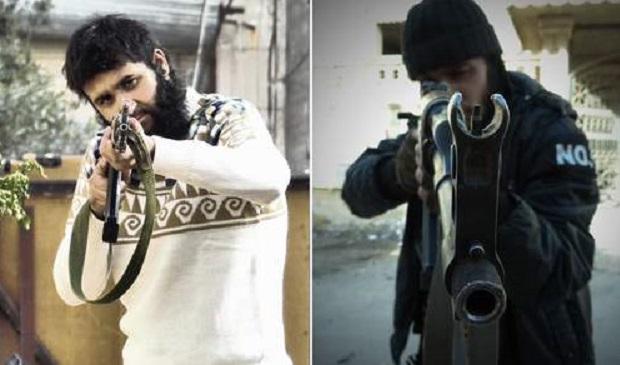 Mohammed Nahin Ahmed (left) and Yusuf Zubair Sarwar plotted terror in Syria