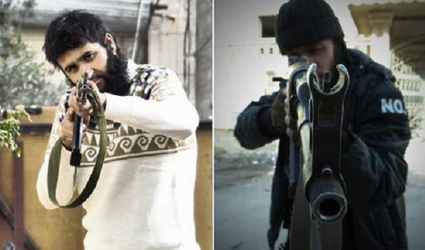 Mohammed Nahin Ahmed (right) and Yusuf Zubair Sarwar plotted terror in Syria