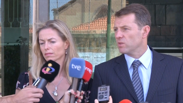 Madeleine McCann Parents says Son Asked about Claims They Hid Her Body