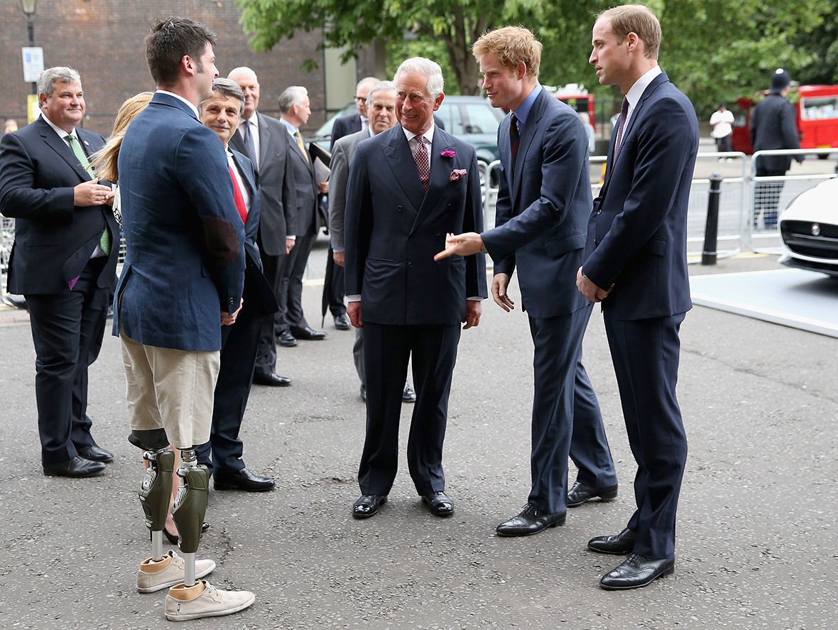 prince charles prince william prince harry