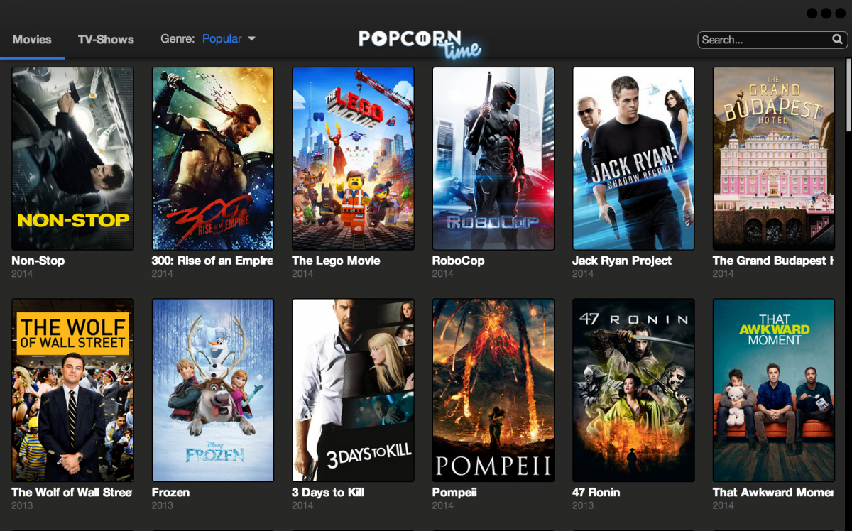 Chromecast Support Comes to Popcorn Time