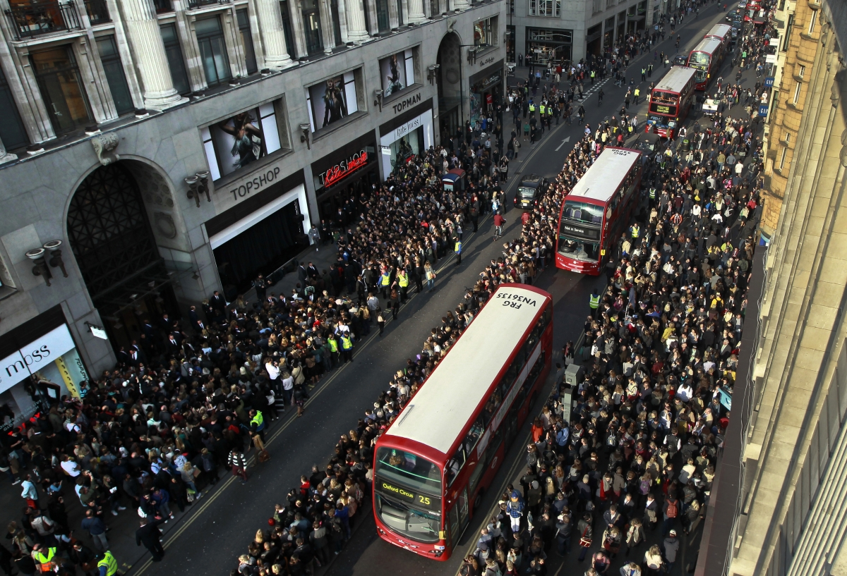 London's Oxford Street - The Most Polluted Street in the World
