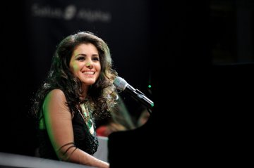 Katie Melua performs at the