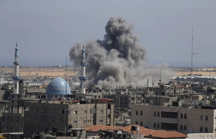 Israel Airstrike Gaza Hamas