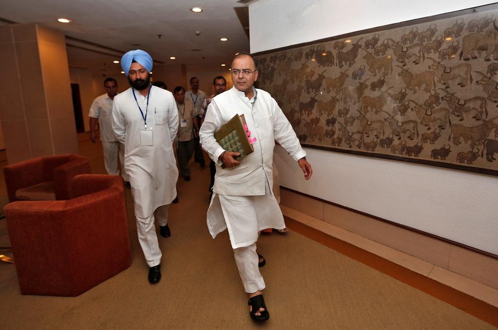 Indian Finance Minister Arun Jaitley
